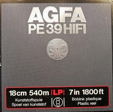 AGFA-PE39-HiFi-1800ft-LP-7-reel