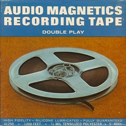Audio-Magnetics-Tape-Reel-Box